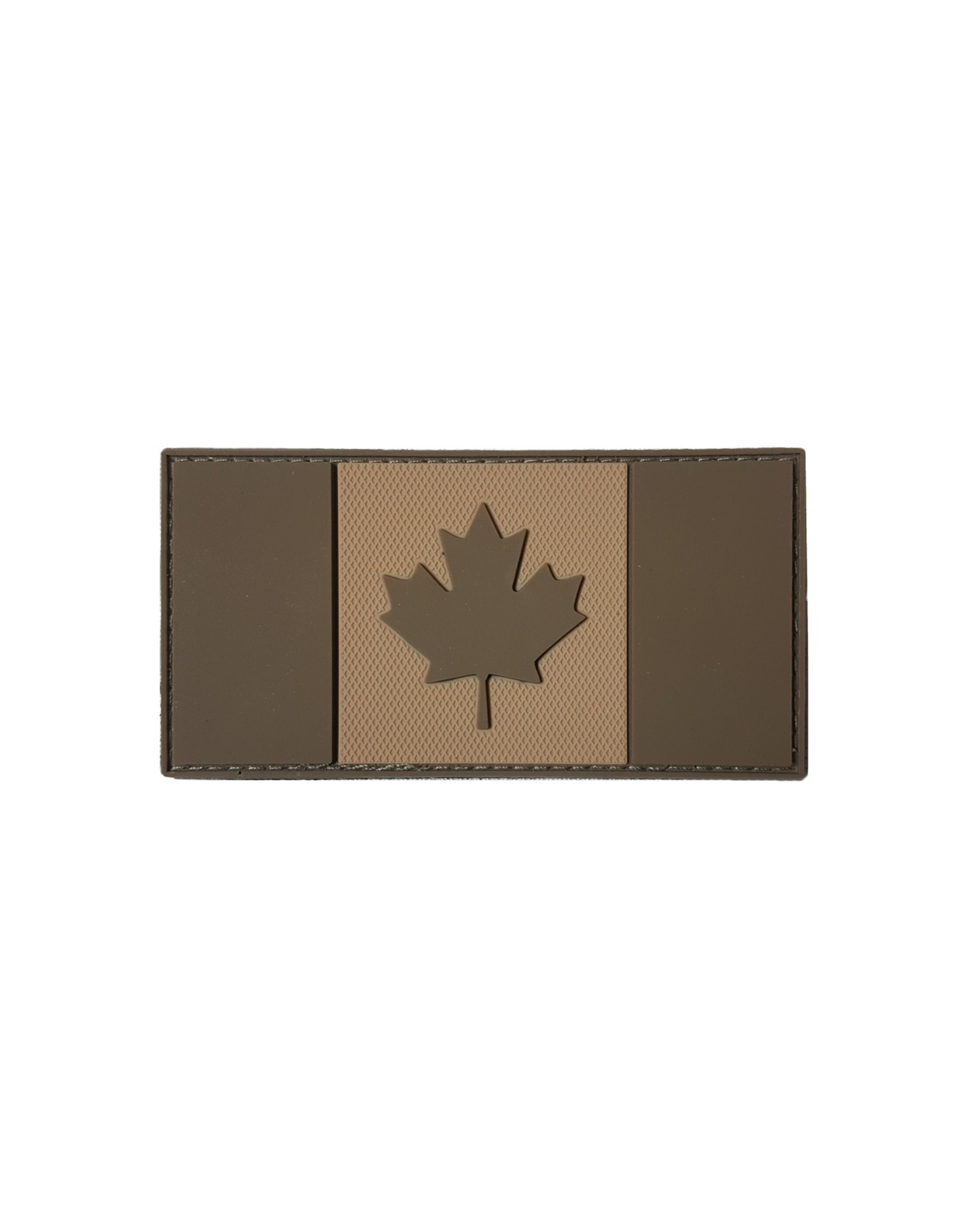 TIC Patch - CANADA FLAG 2X4 T&T