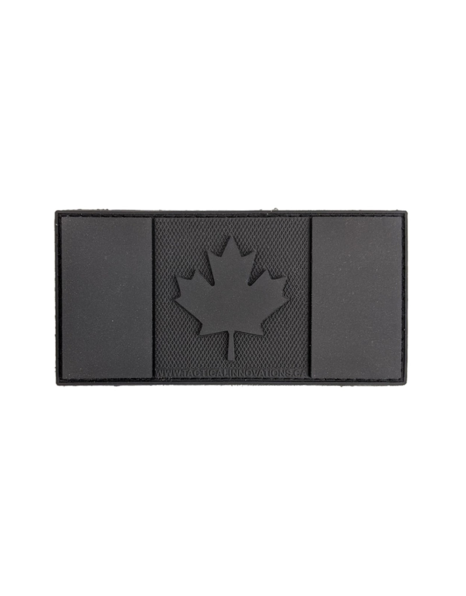 TIC Patch - CANADA FLAG 2X4 BLKOUT