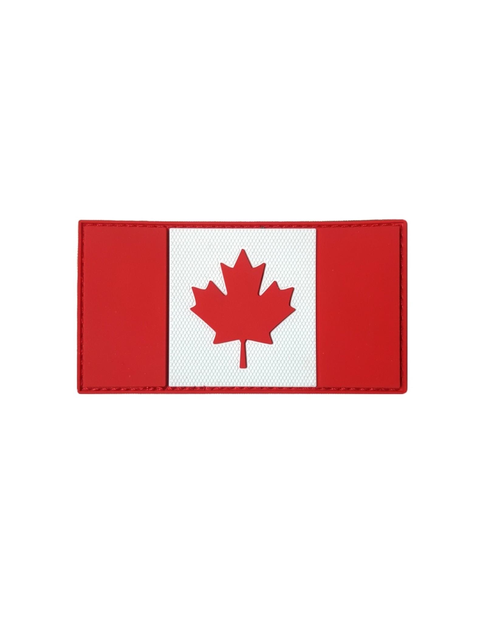 TIC Patch - CANADA FLAG 1.5X3 R&W