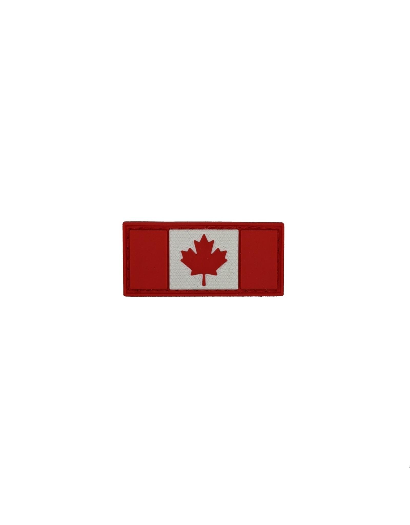 TIC Patch - CANADA FLAG 1X2 R&W