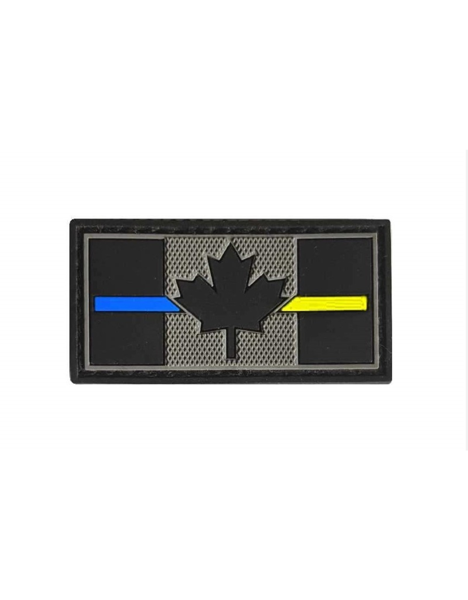TIC Patch - THIN BLUE/YELLOW LINE FLAG 1X2