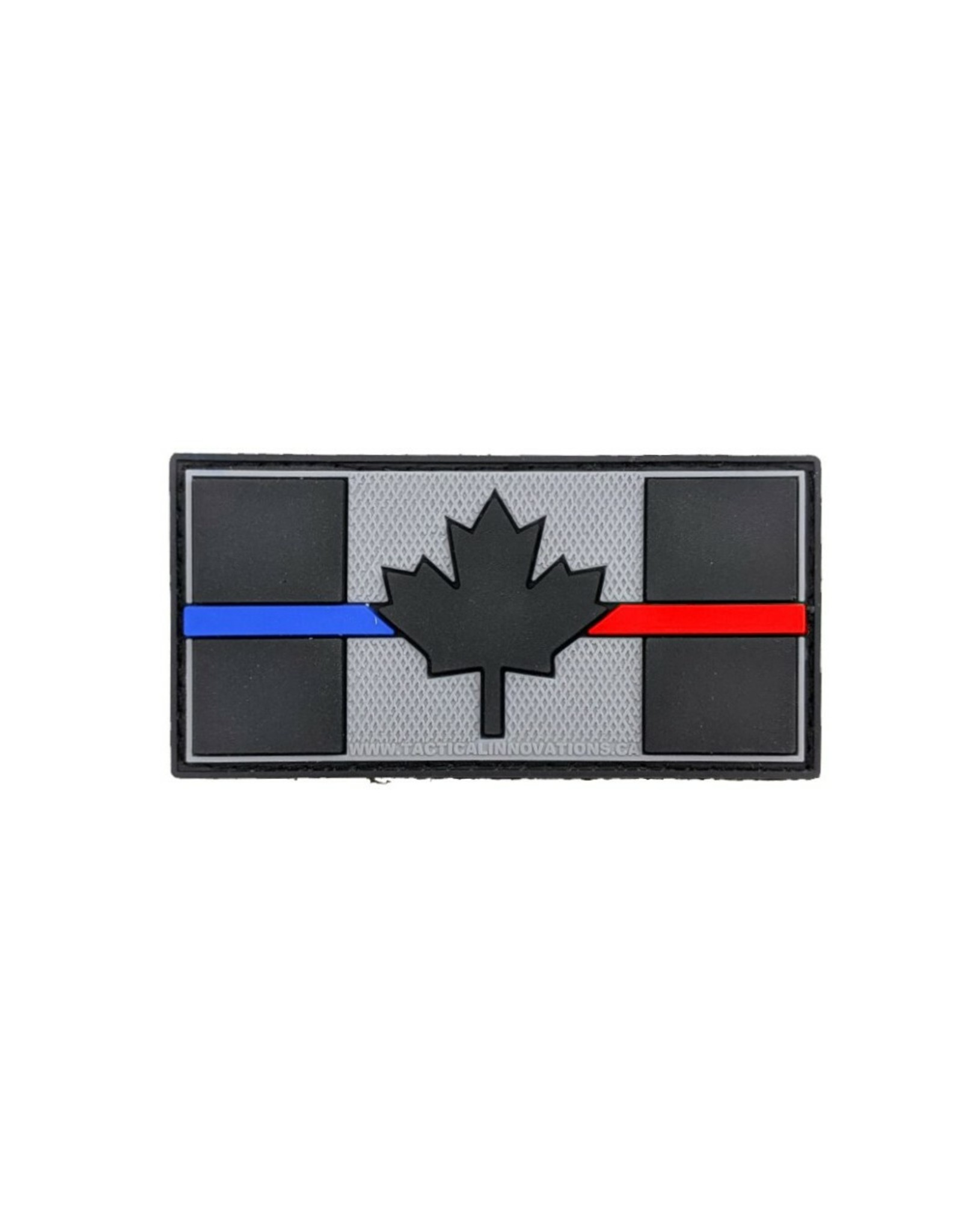 TIC Patch - THIN BLUE/RED LINE FLAG 1X2