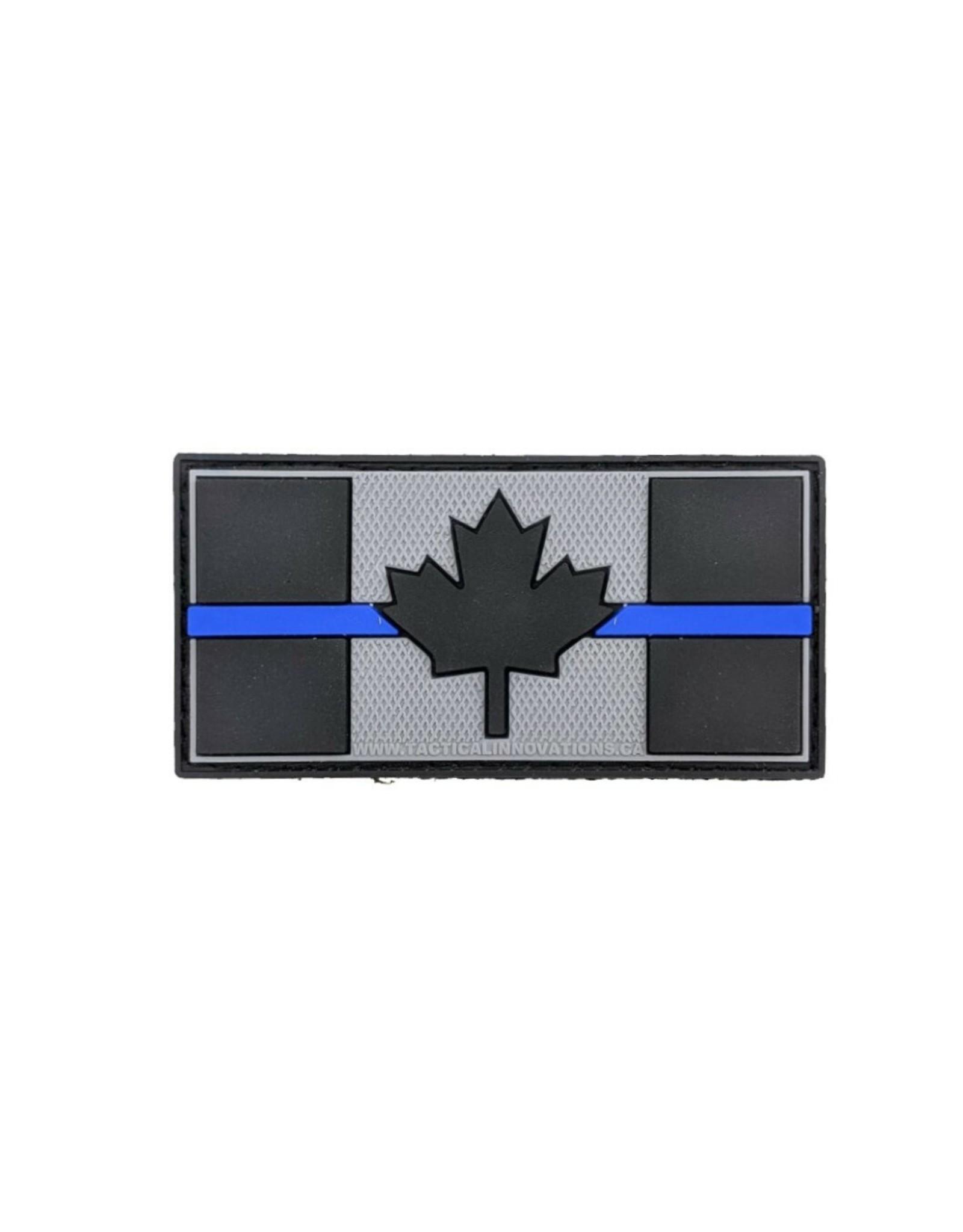TIC Patch - THIN BLUE LINE FLAG 1.5X3
