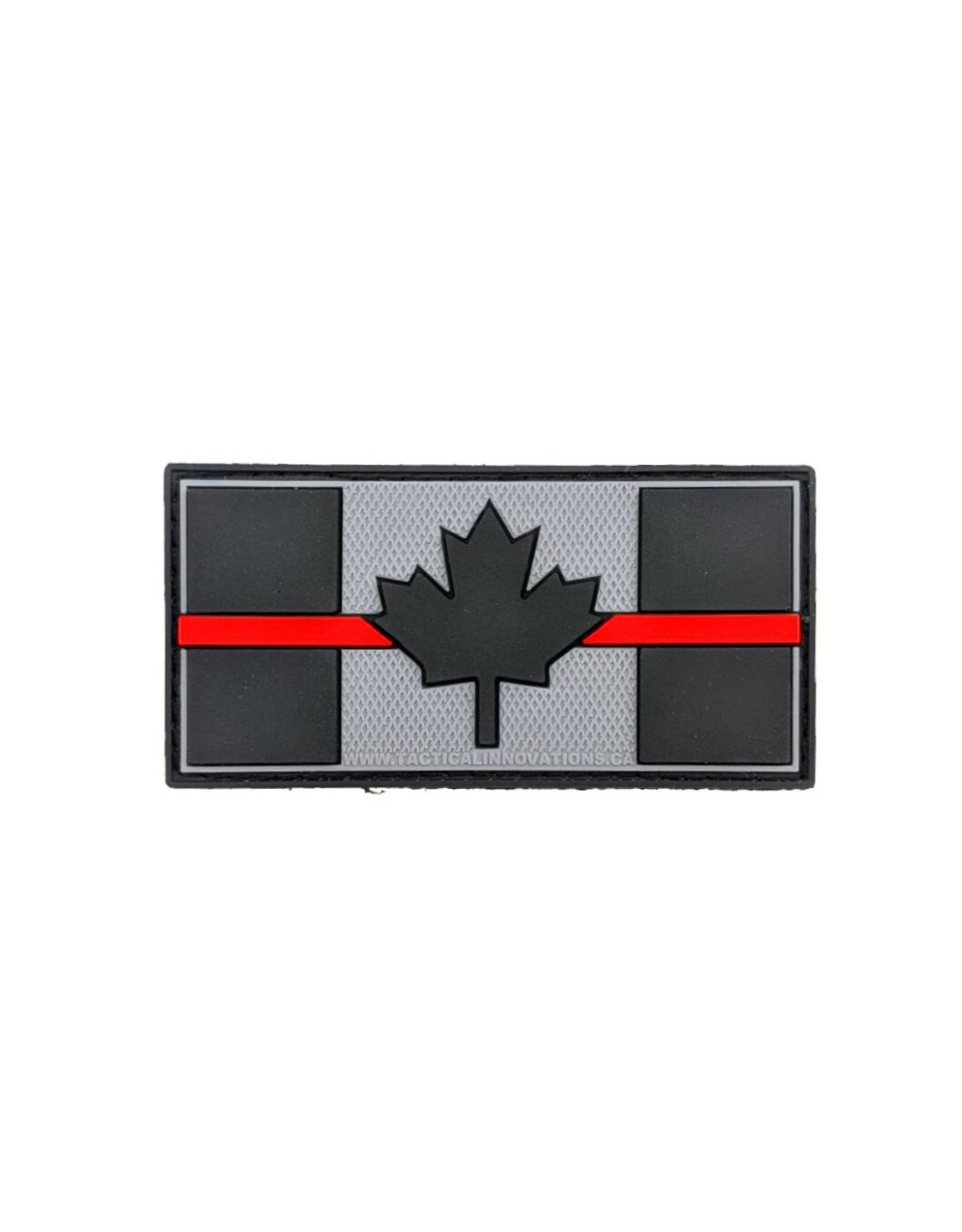 TIC Patch - THIN RED LINE FLAG 1X2