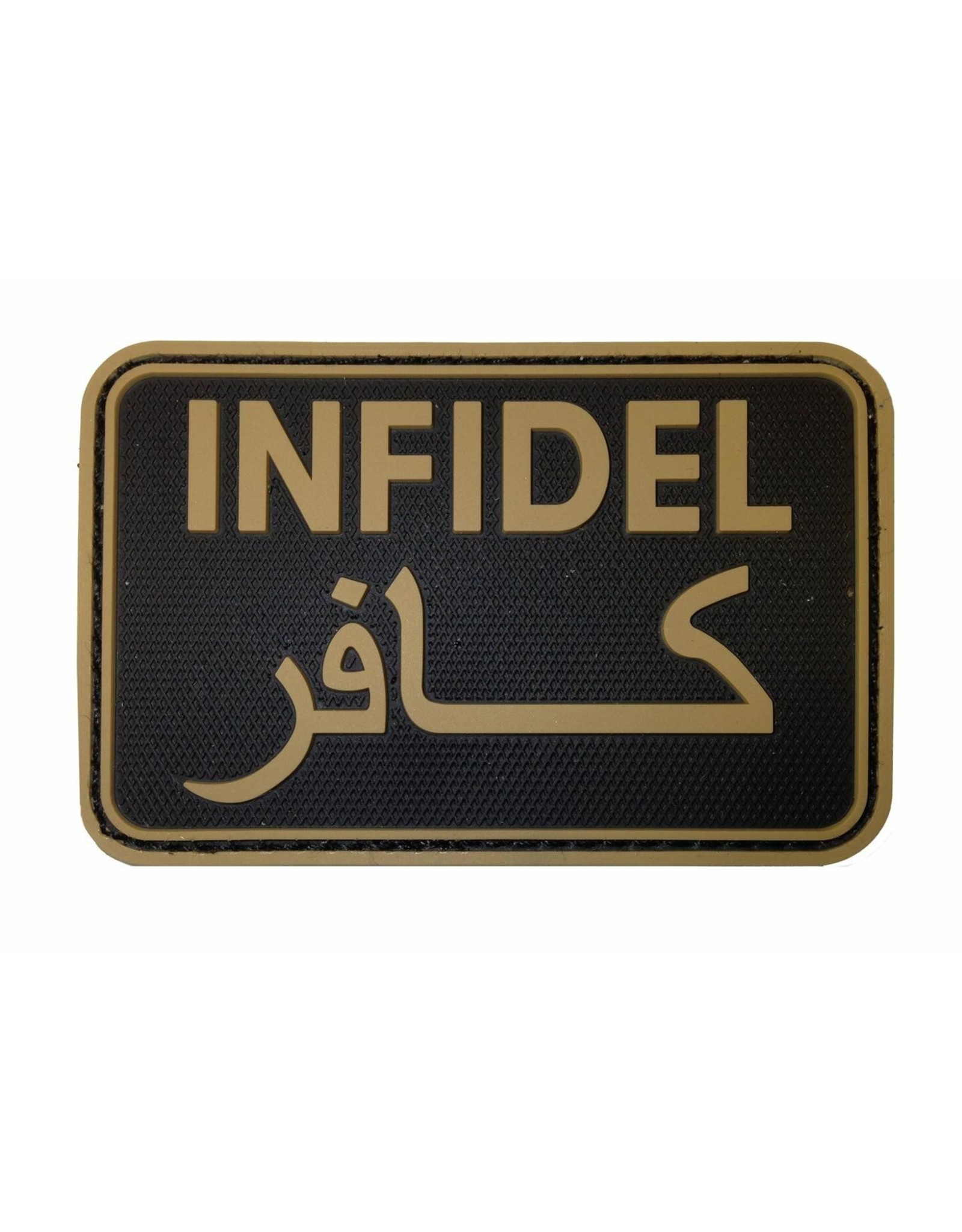 TACTICAL INNOVATIONS TIC Patch - INFIDEL UNBELEVER TAN