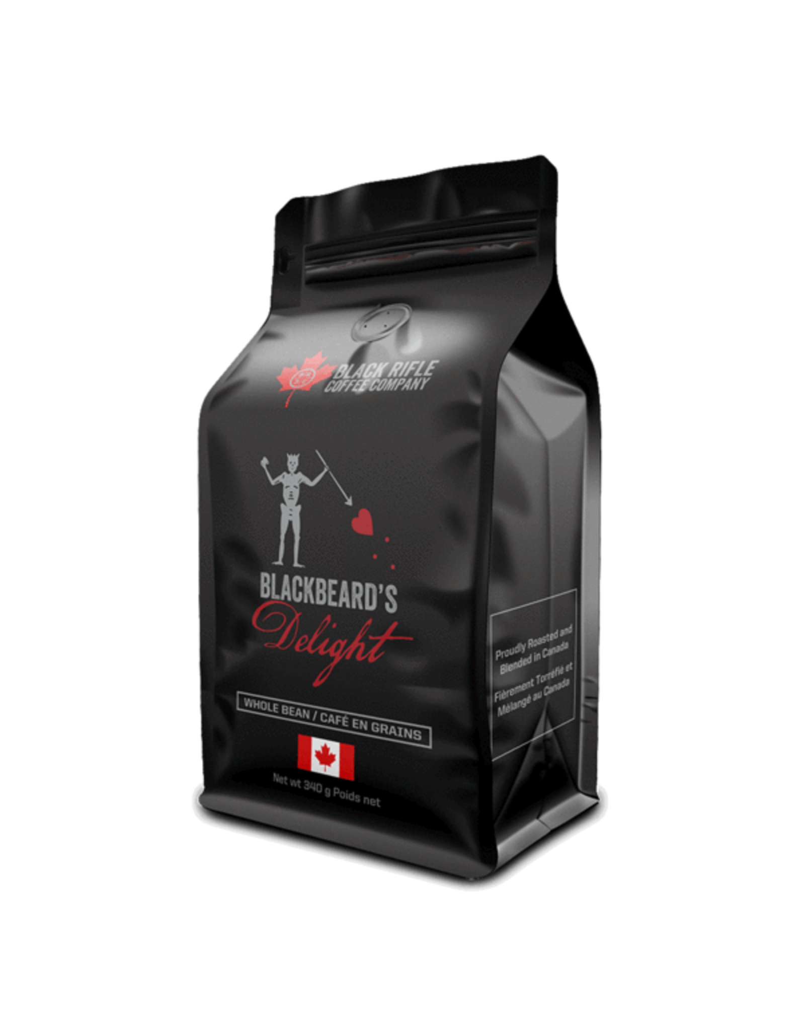 Black Rifle Coffee BRCC Grounds BlackBeards Delight 12 oz bag