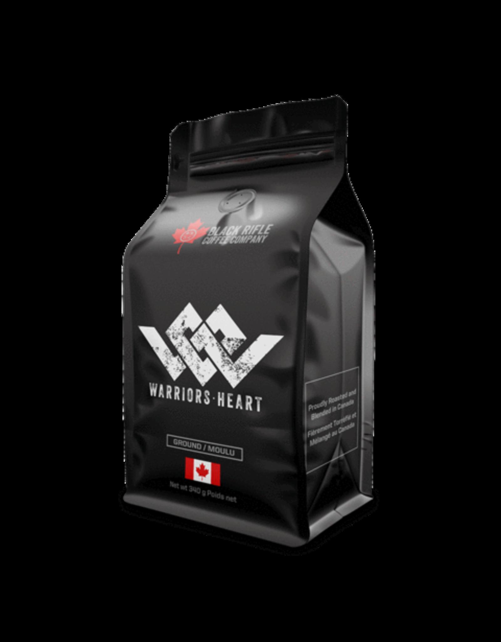 Black Rifle Warriors Heart Ground Coffee..12 oz bag