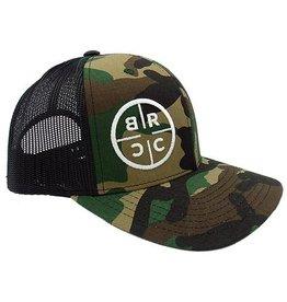 BRCC - Trucker Hat - Camo w/Black Mesh