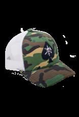 BRCC - Trucker Hat - CAF Spade w/White Mesh