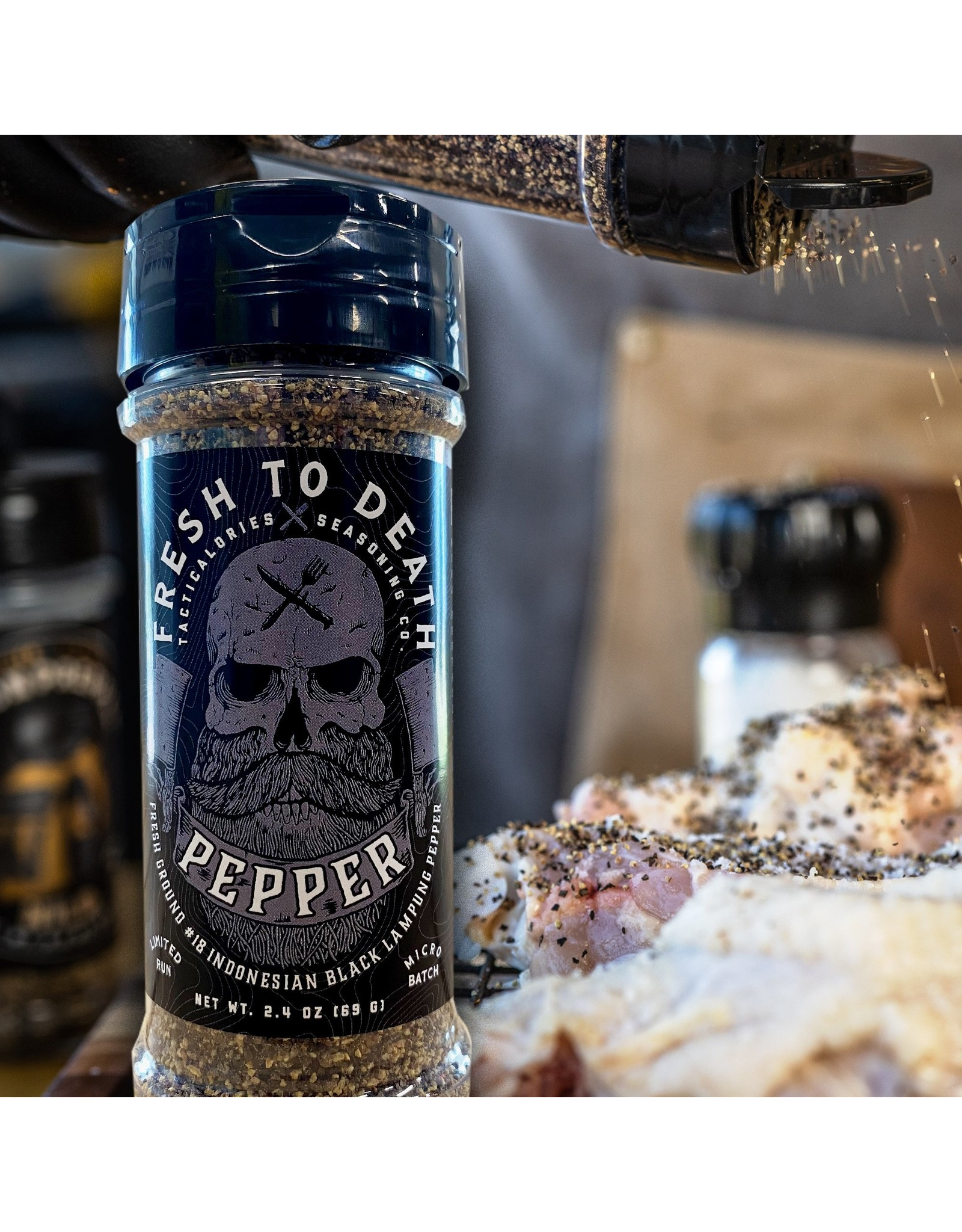 Tacticalories Fresh to Death Pepper