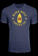 Black Rifle Coffee BRCC ARROWHEAD SHIRT - VINTAGE NAVY-LARGE