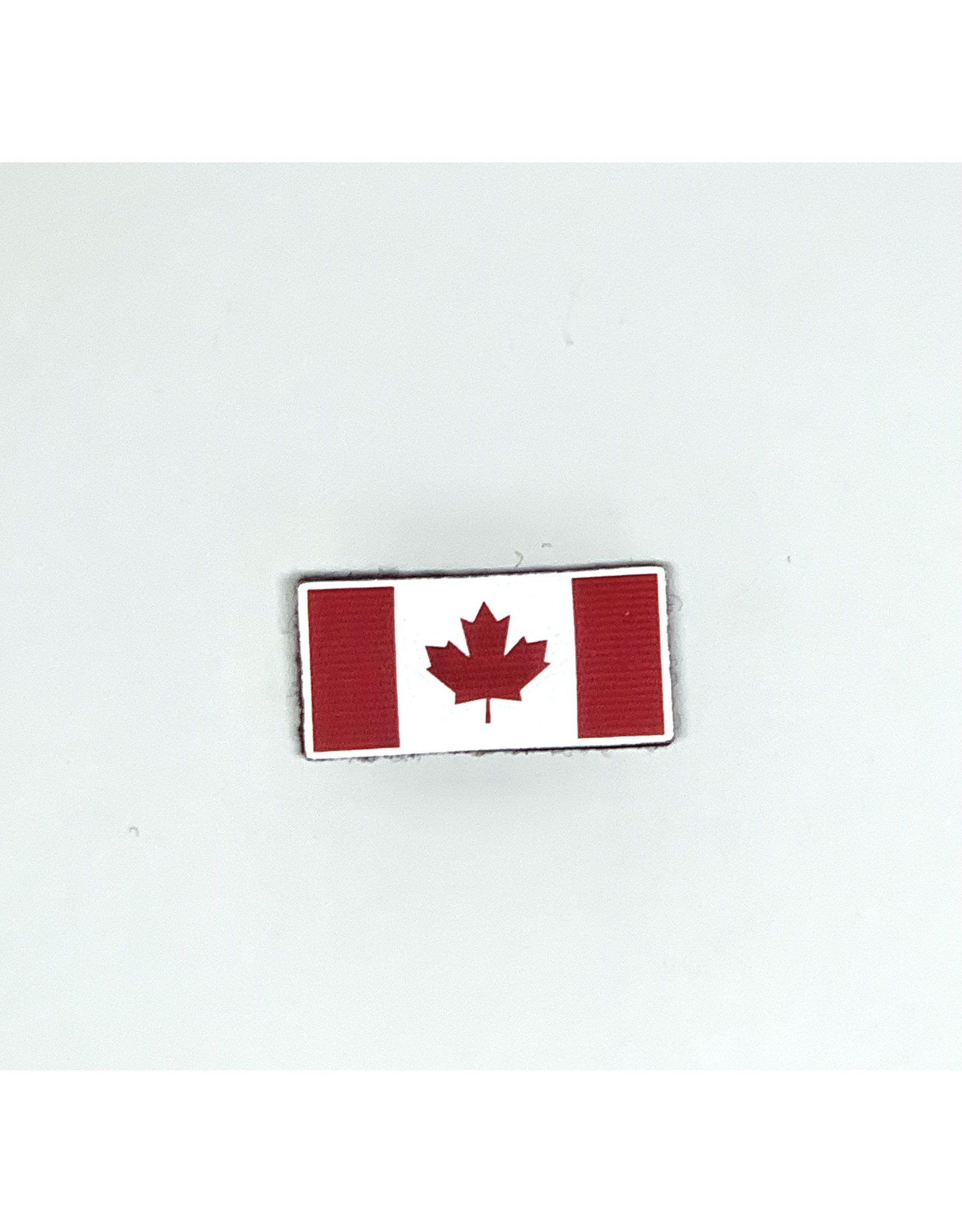 TIC Patch - Hi Vis Reflective Patch CANADA FLAG RED 1X2