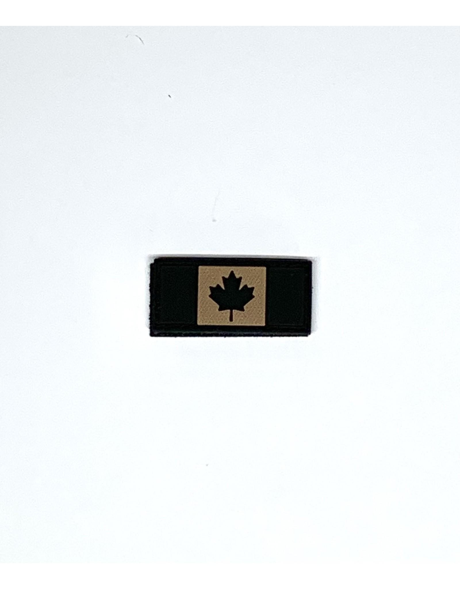 TIC Patch - CANADA FLAG 1X2 TAN