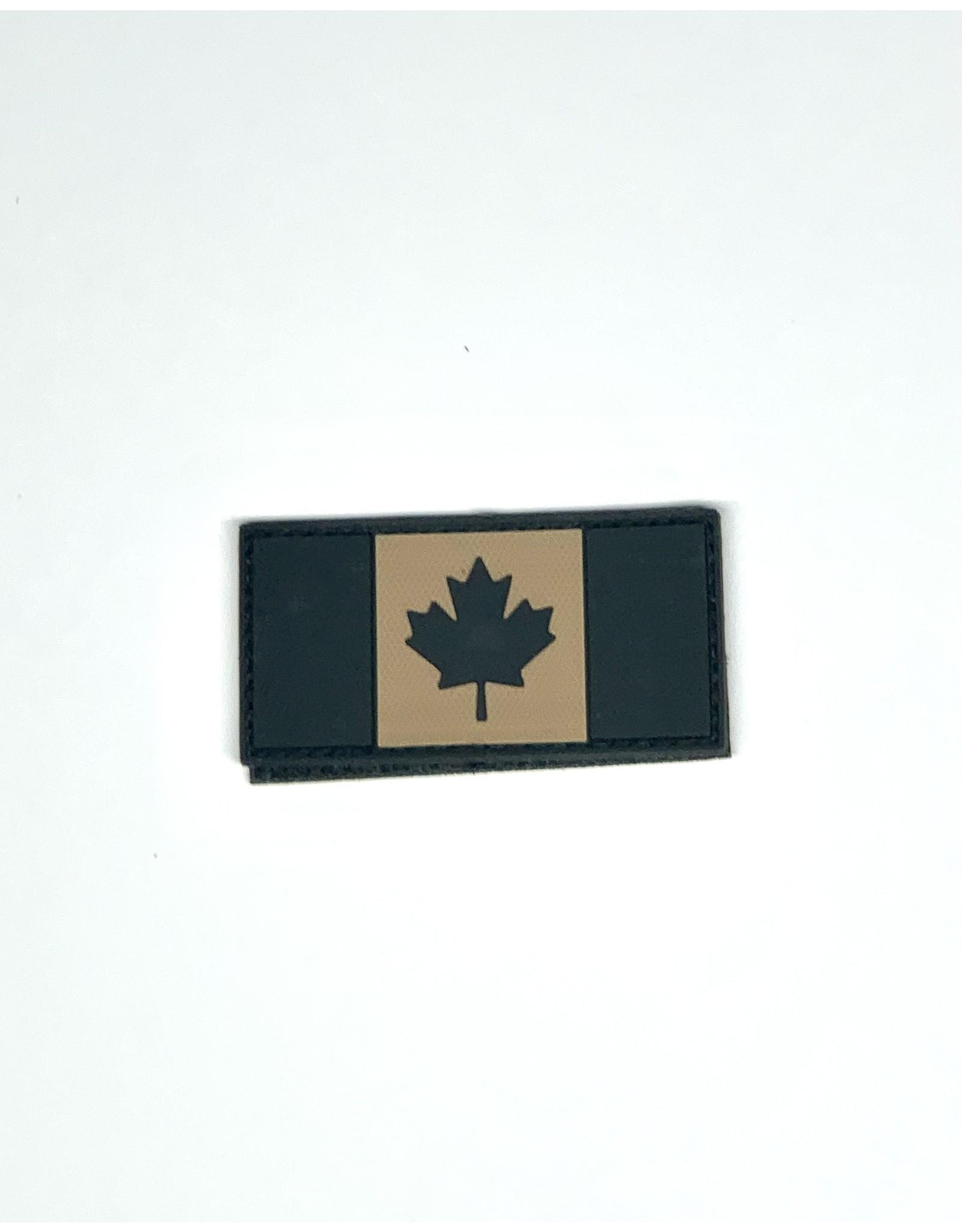 TIC Patch - CANADA FLAG 1.5X3 TAN