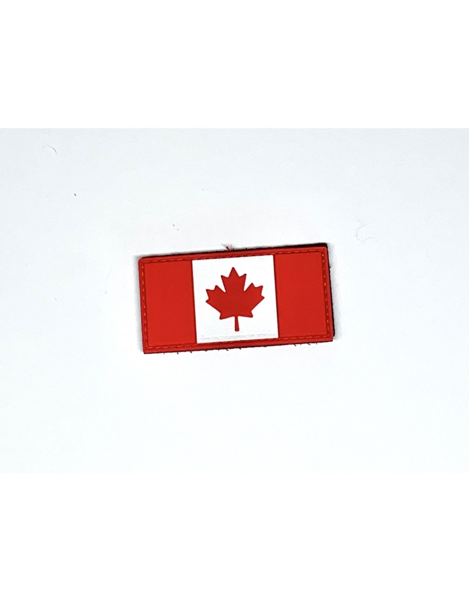 TIC Patch - Canadian Flag Red/White  1.5 x 3