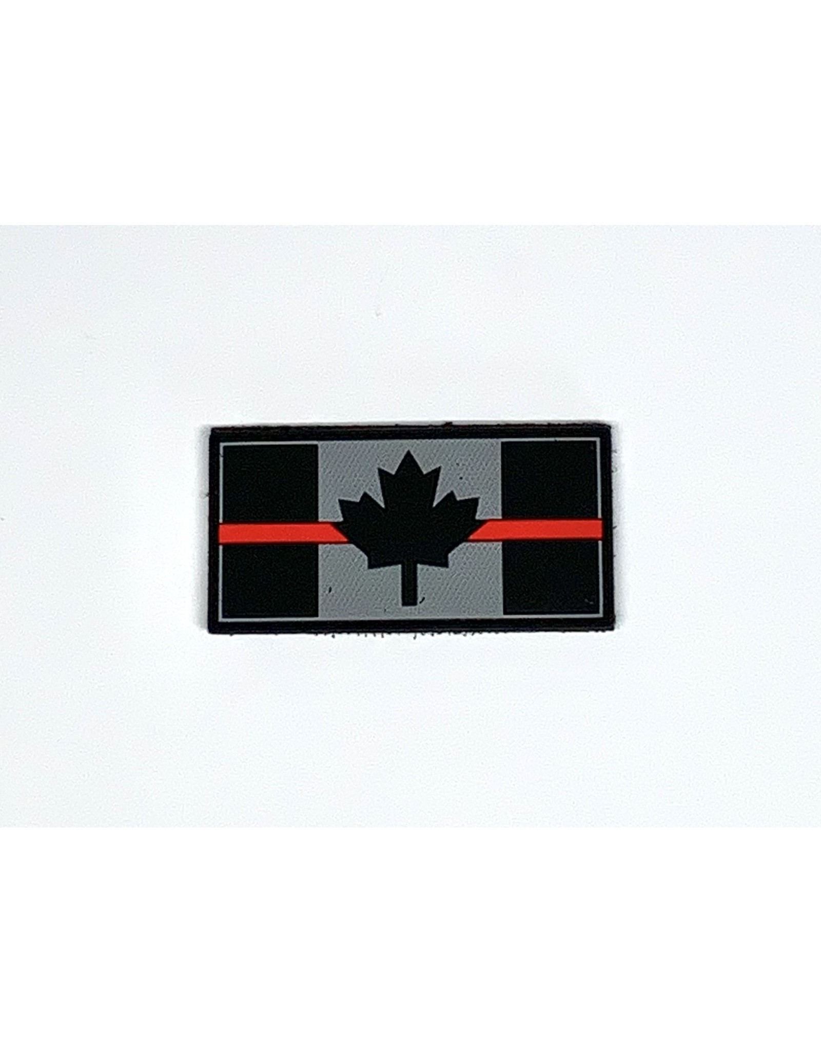 HTIC Patch - THIN RED LINE FLAG 1.5X3