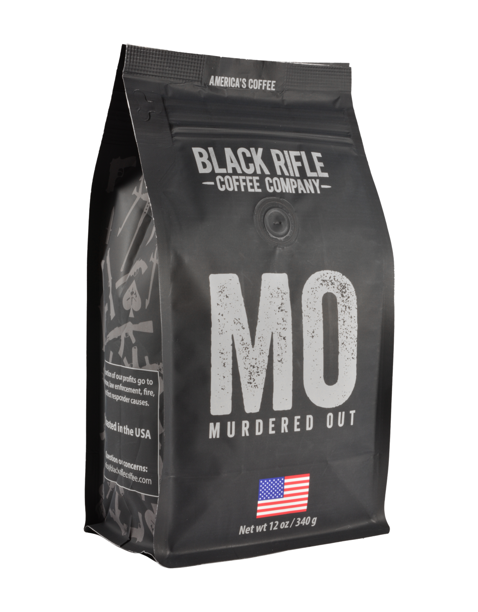 Black Rifle Coffee BRCC - Murdered Out COFFEE ROUNDS