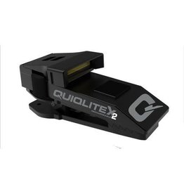 Quiqlite QuiqLite X2 USB Rechargeable Aluminum Housing 20 - 200 Lumens Color:Red/White