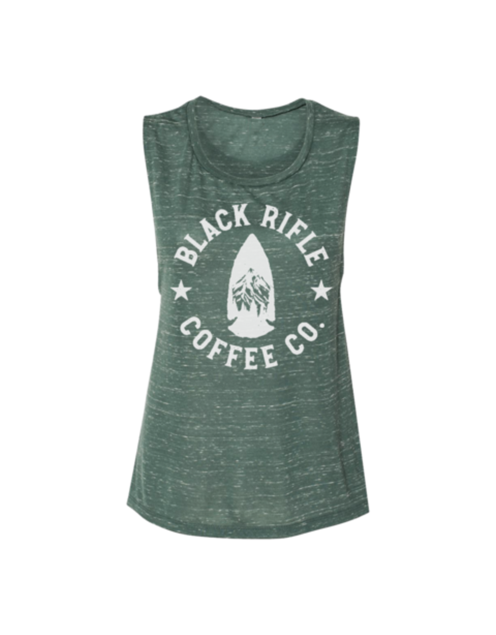 Black Rifle Coffee Arrowhead Muscle Tank Top