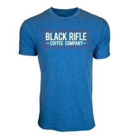 Black Rifle Coffee BRCC Men's Vintage Logo Royal Blue T-Shirt