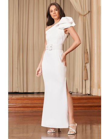 ELLIATT ANNIKA GOWN DRESSES WHITE L
