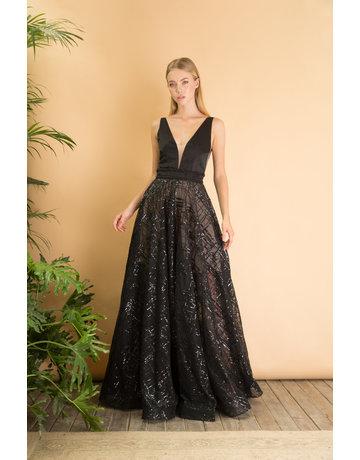 BRONX AND BANCO GEMMA DRESSES BLACK MT: L