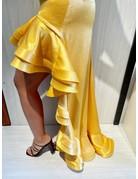 BRONX AND BANCO MARIGOLD DRESSES YELLOW MT: S
