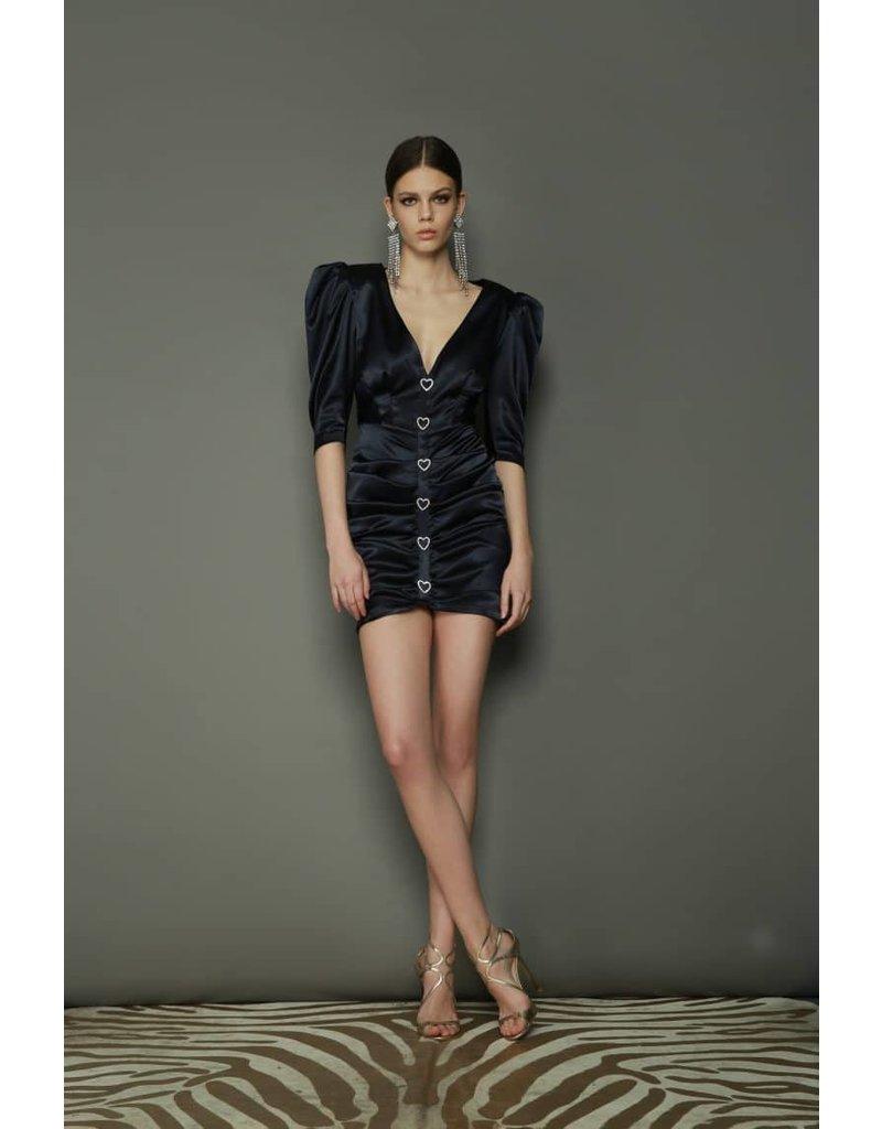 BRONX AND BANCO JANA MINI DRESSES NAVY MT:M