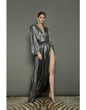 BRONX AND BANCO ZOE SILVER DRESSES SILVER MT:S