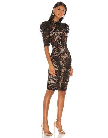 BRONX AND BANCO MADELEINE NOIR DRESSES BLACK MT:XS