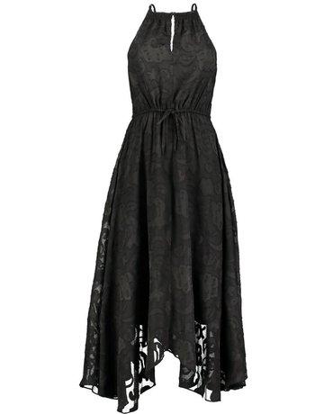 ELIZABETH CROSBY CHARLIZE HANKY HEM DRESSES