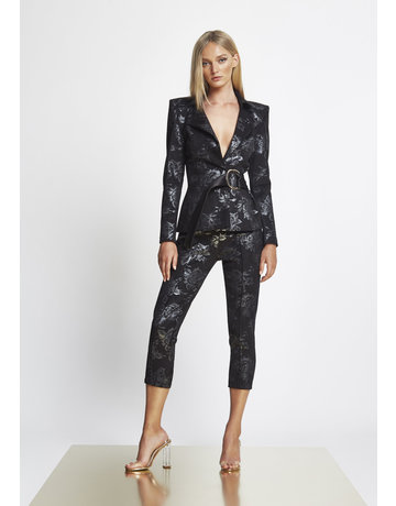 ZHIVAGO AND THE ROSES PANTS BLACK 06
