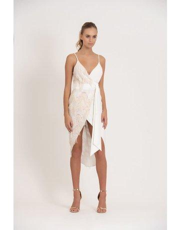 ZHIVAGO DON'T LOOK DOWN DRESSES WHITE 08