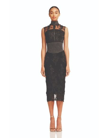 ZHIVAGO MULWALA DRESSES BLACK 10 (M)