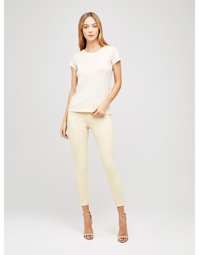 L'AGENCE CORY SCOOP NECK TOPS COCONUT MT:XS