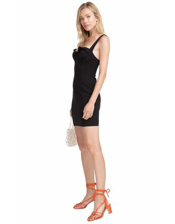 ASTR THE LABEL EMORY STRETCH KNIT BODYCON DRESSES