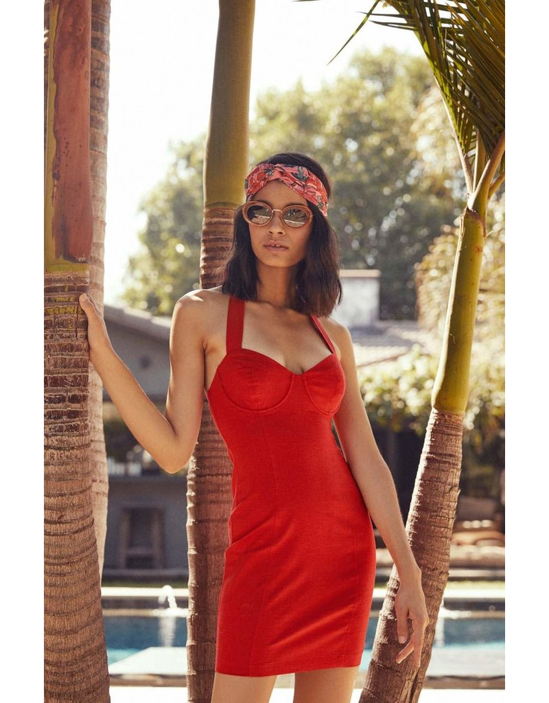 ASTR THE LABEL MARIANNE BODYCON DRESSES