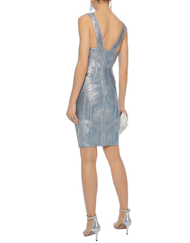 HERVE LEGER NANNETTE DRESSES HAZE COMBO S