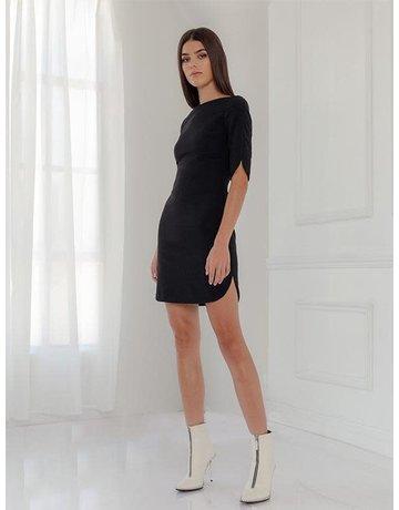 BLACK HALO MOLLY MINI BLACK DRESSES MT: 8