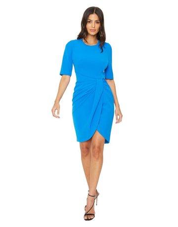 BLACK HALO ALTO SHEATH BLUE DRESSES