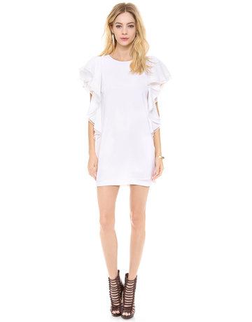 BCBG SALE SALE SOLACE WHITE  DRESSES MT: 0