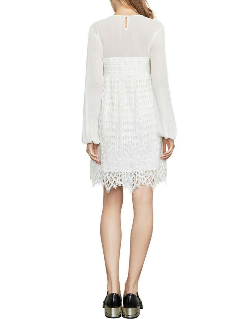 BCBG SALE SALE LUANN OFF WHITE DRESSES