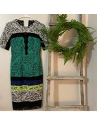 BCBG SALE SALE PATRICE MALACHITE COMBO DRESSES MT: 6