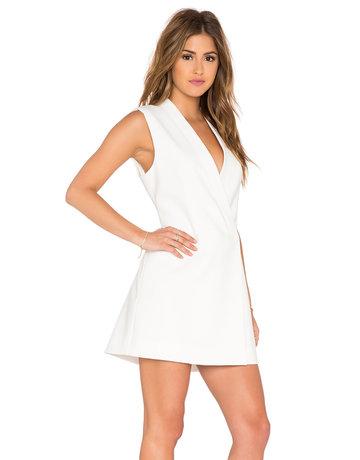BCBG SALE SALE CARYN OFF WHITE DRESSES MT: M