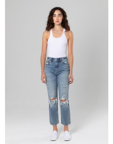 DAZE STRAIGHT UP HIGH RISE JEANS