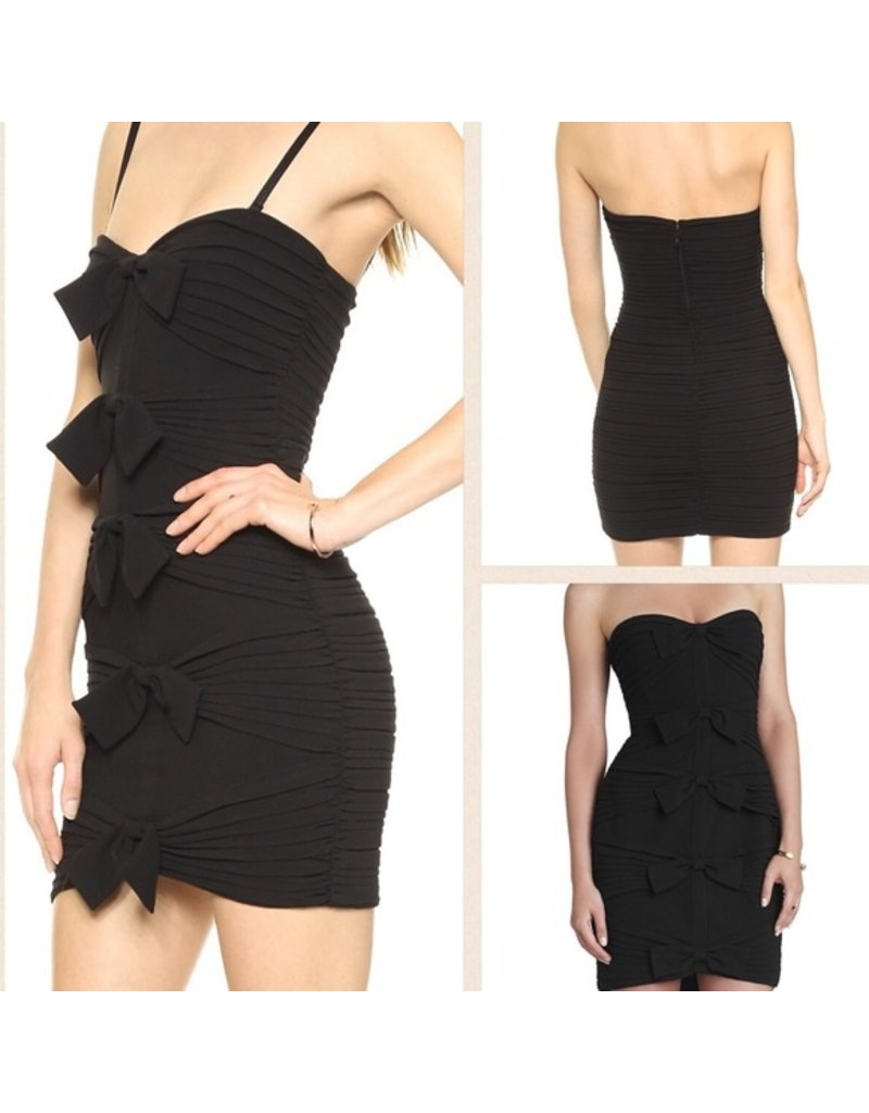 BCBG SALE SALE SABRINNA BLACK DRESSES MT: 8