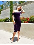 BCBG SALE SALE KERRY PLUM  DRESSES MT: 10