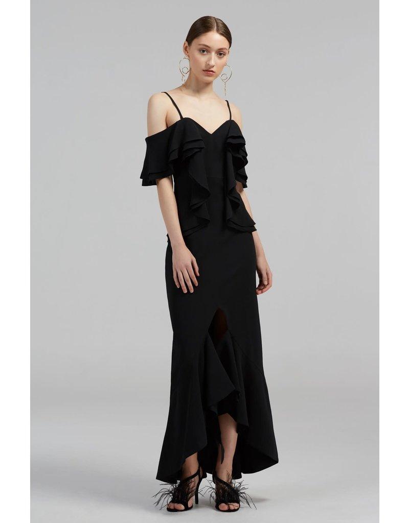 CAMEO COVET GOWN DRESSES BLACK MT:S