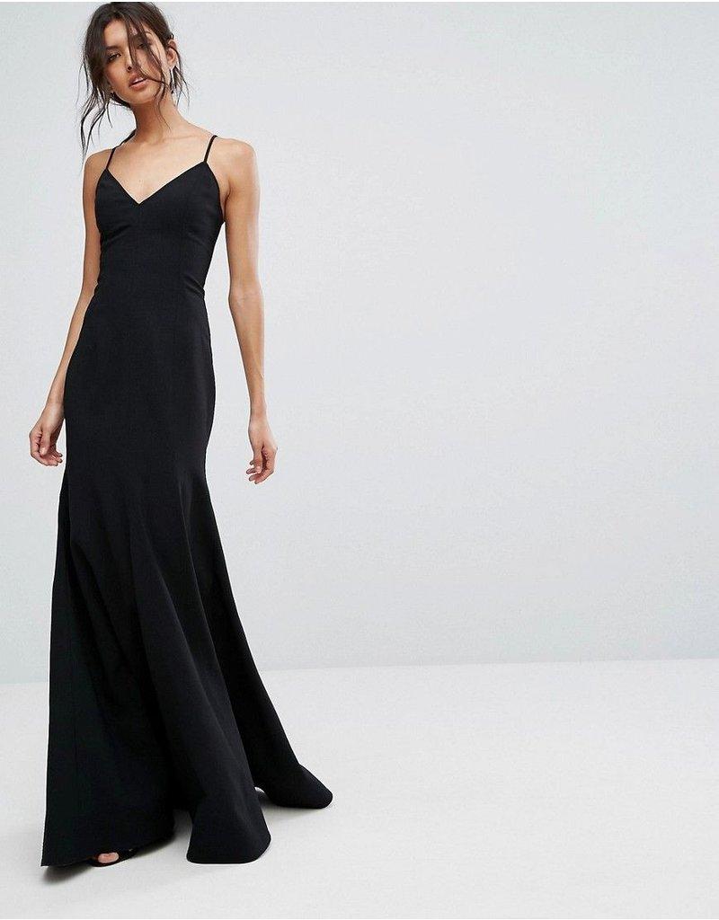 CAMEO RIGHT NOW MAXI DRESSES BLACK MT: S
