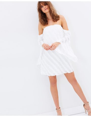 CAMEO RECOLLECTION LS DRESSES IVORY